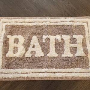 Plush Bathmat - only used once!
